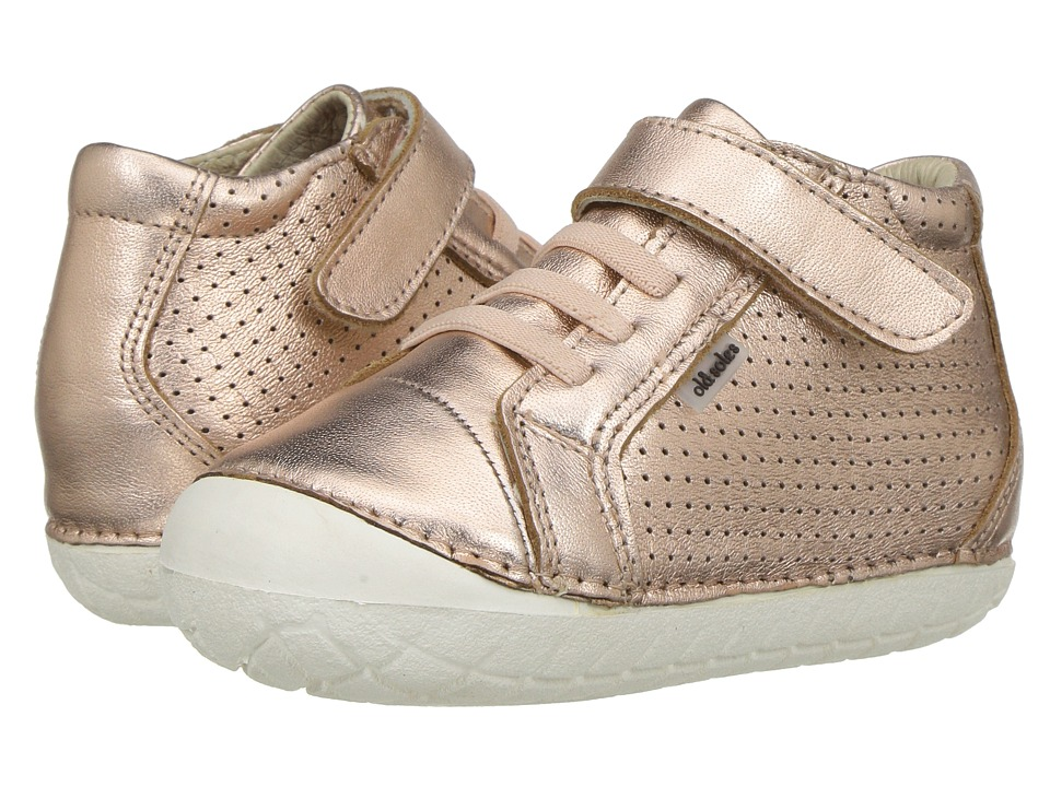 Old Soles - Pave Cheer (Infant/Toddler) (Copper) Girls Shoes