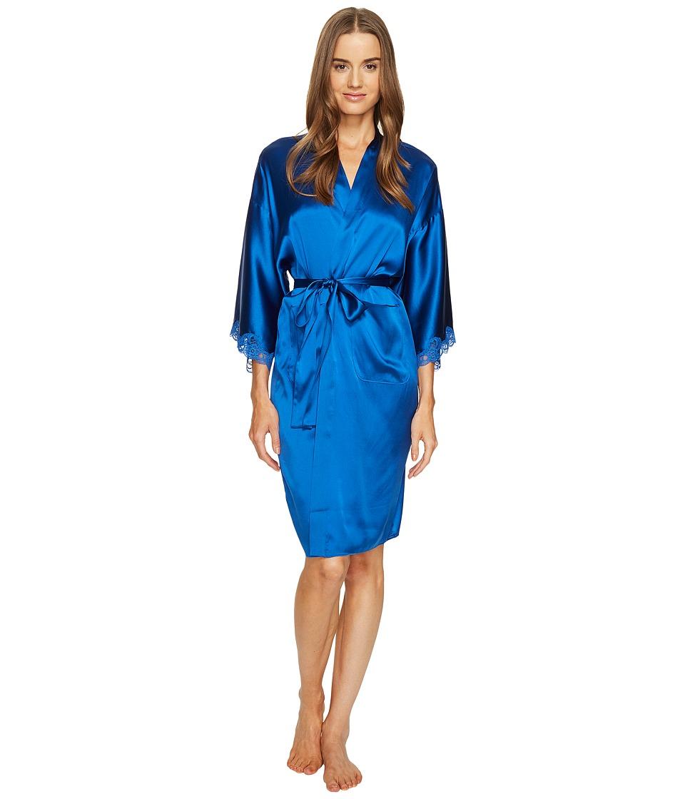 Stella McCartney - Eloise Enchanting Long Robe S75-304 (Classic Blue) Women's Robe