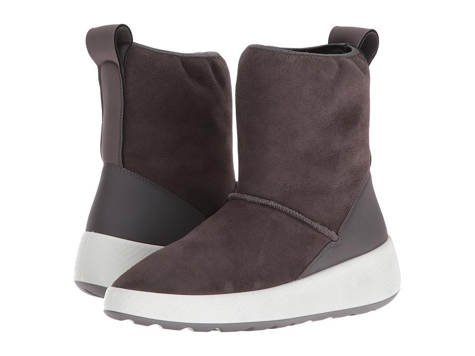 ECCO - Ukiuk Short Boot (Slate/Slate) Women's Boots