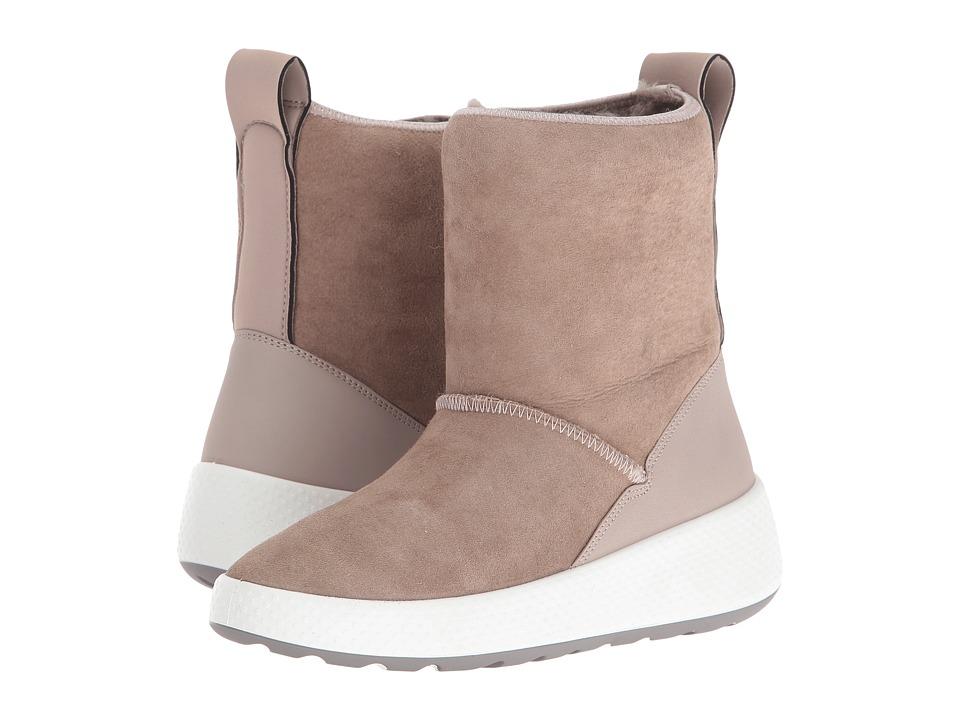 ECCO - Ukiuk Short Boot (Moon Rock/Moon Rock) Women's Boots