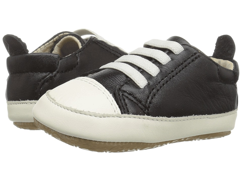 Old Soles - Eazy Jogger (Infant/Toddler) (Black/White) Boys Shoes