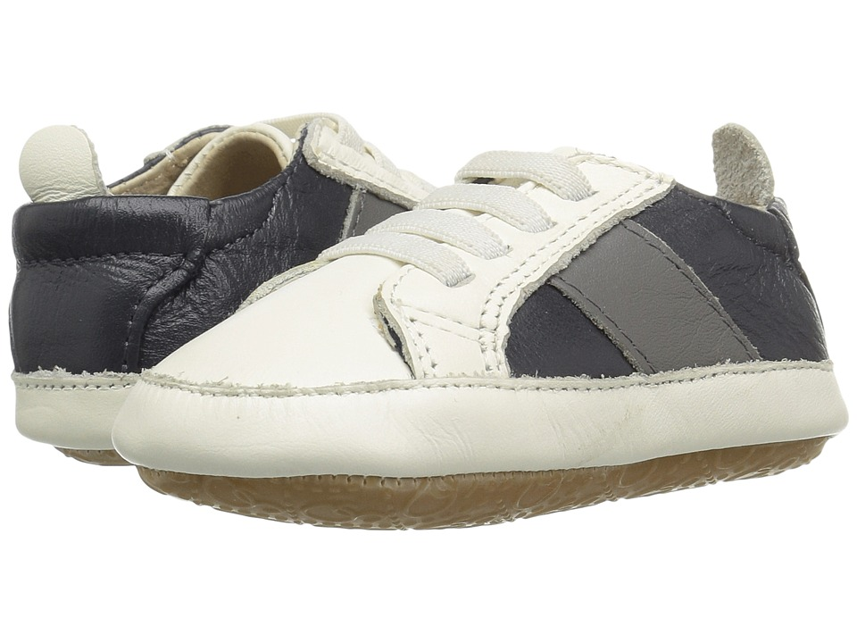 Old Soles - Gig Shoe (Infant/Toddler) (White/Grey/Navy) Boys Shoes