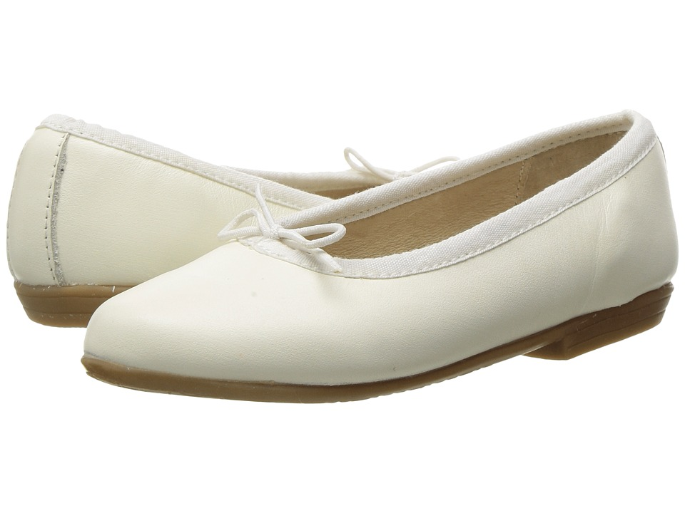 Image of Old Soles - Brule Shoe (Toddler/Little Kid) (White) Girl's Shoes