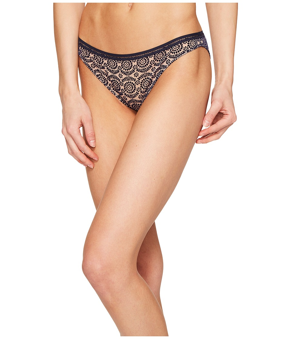 Stella McCartney - Fleur Dancing Bikini S30-281 (Dark Ink/Mahogany Rose) Women's Underwear