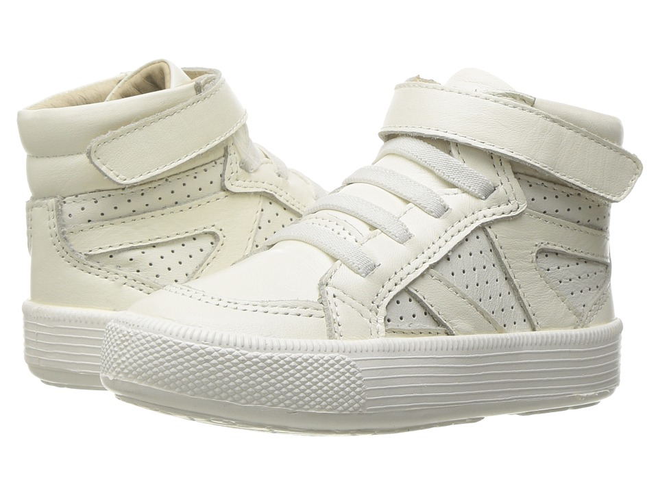 Old Soles - Star Jumper (Toddler/Little Kid) (White) Girl's Shoes