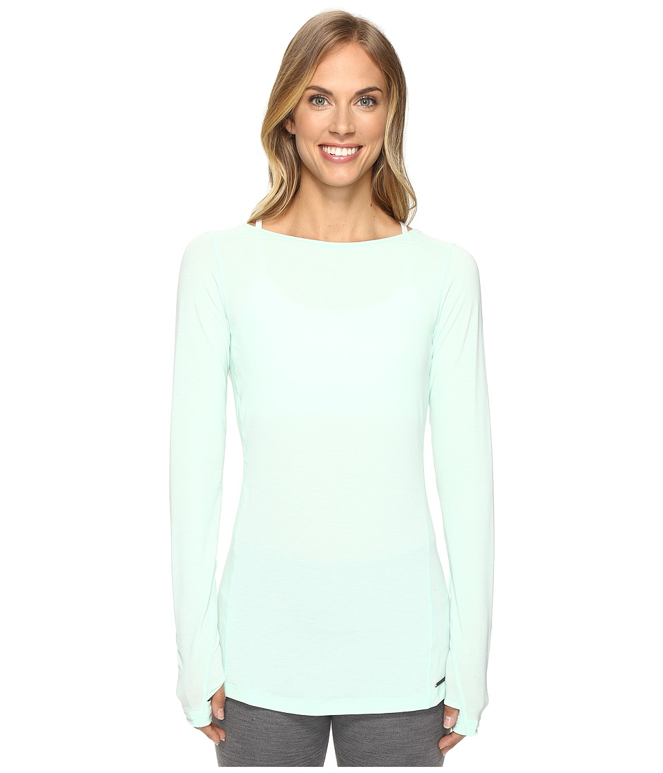 New Balance - Meditation Tee (Seafoam Heather) Women's T Shirt