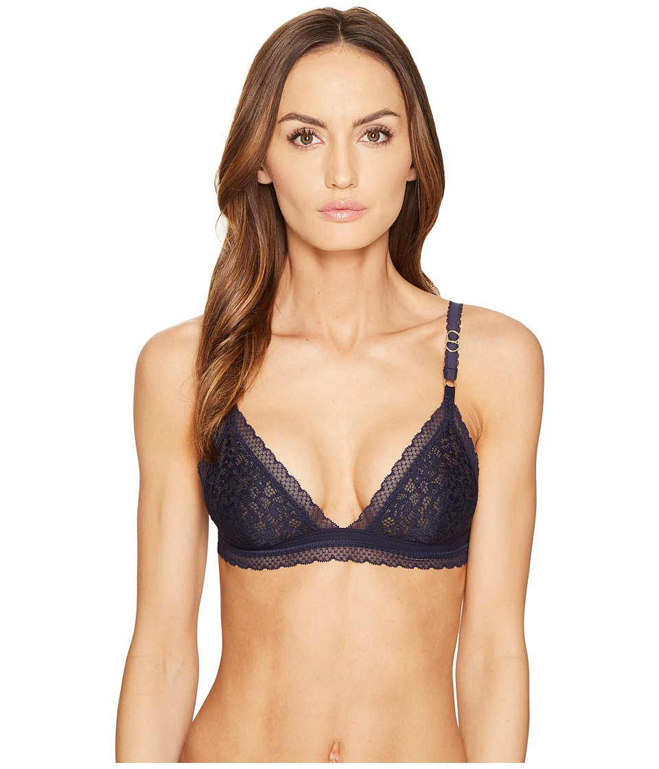 Stella McCartney - Lulu Drifting Soft Cup S21-291 (Dark Ink Blue) Women's Bra