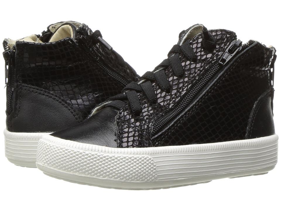 Old Soles - Tri-Zip (Toddler/Little Kid) (Black Snake/Black) Boy's Shoes