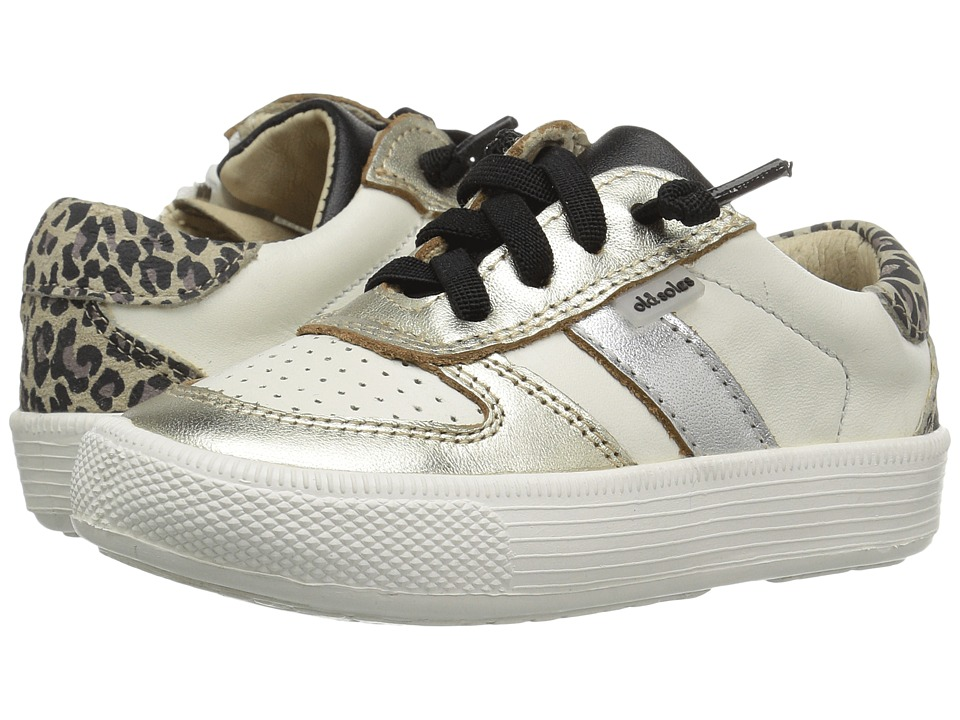 Old Soles - Urban Code (Toddler/Little Kid) (Cat/White/Black/Silver/Gold) Boy's Shoes
