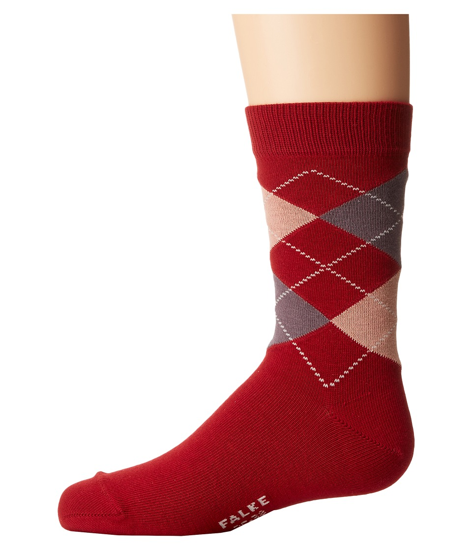 Falke - Classic Argyle Socks (Toddler/Little Kid/Big Kid) (Oxford) Crew Cut Socks Shoes