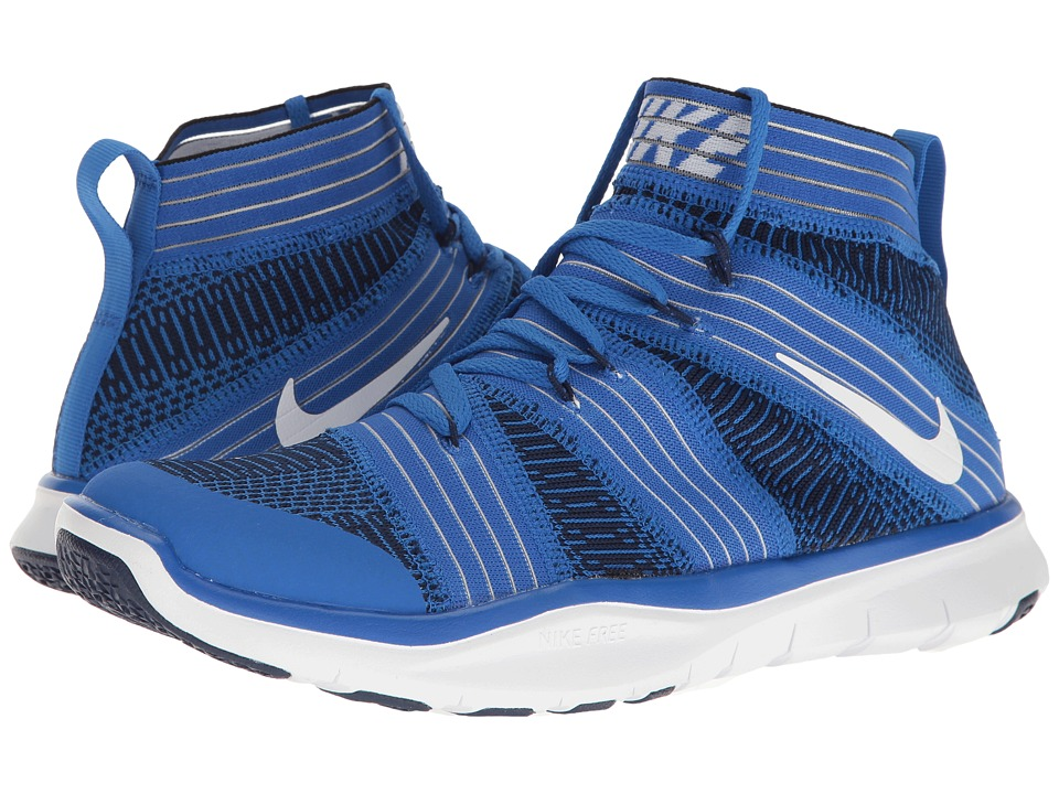 Nike - Free Train Virtue (Hyper Coablt/White/Binary Blue) Men's Cross Training Shoes