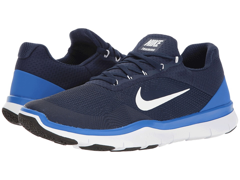 Nike - Free Trainer v7 (Binary Blue/Hyper Cobalt) Men's Cross Training Shoes