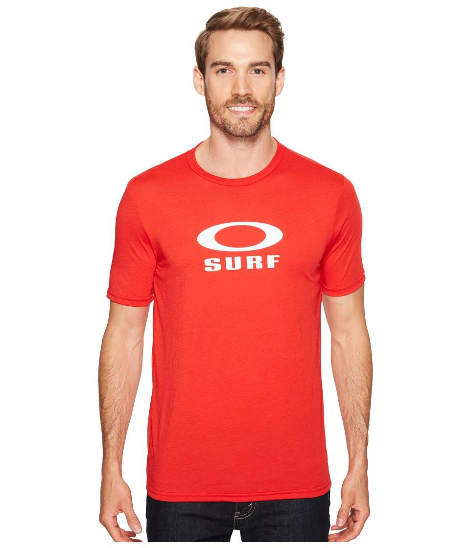 Oakley - O-Surf T-Shirt (Red Line) Men's Swimwear