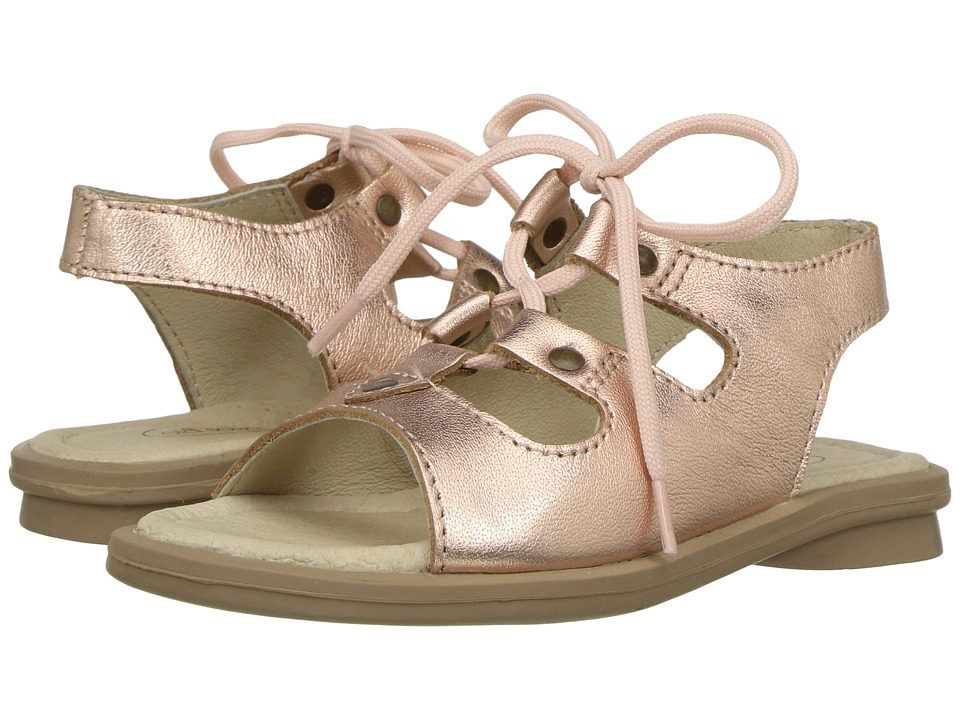 Old Soles - Apollo Sandal (Toddler/Little Kid) (Copper) Girls Shoes