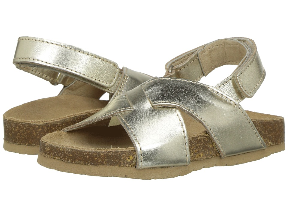 Old Soles - Mediteranean (Toddler/Little Kid) (Gold) Girls Shoes