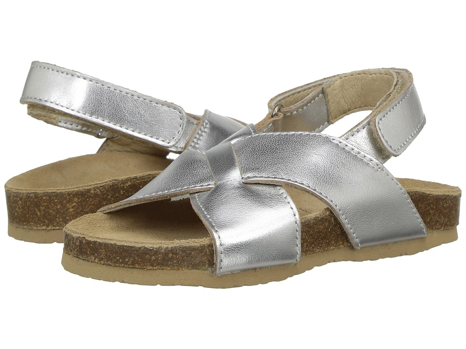 Old Soles - Mediteranean (Toddler/Little Kid) (Silver) Girls Shoes