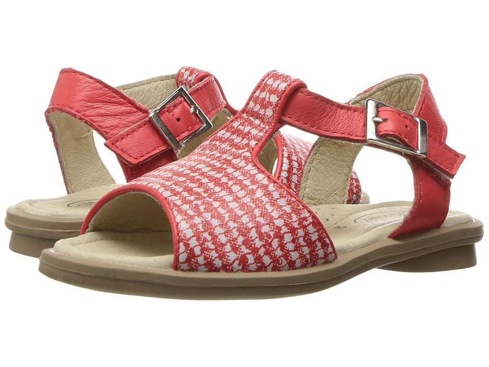 Old Soles - Sugar Sandal (Toddler/Little Kid) (Red/Bianco/Bright Red) Girls Shoes