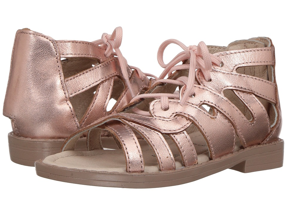 Old Soles - Glamourama Sandal (Toddler/Little Kid) (Copper) Girls Shoes