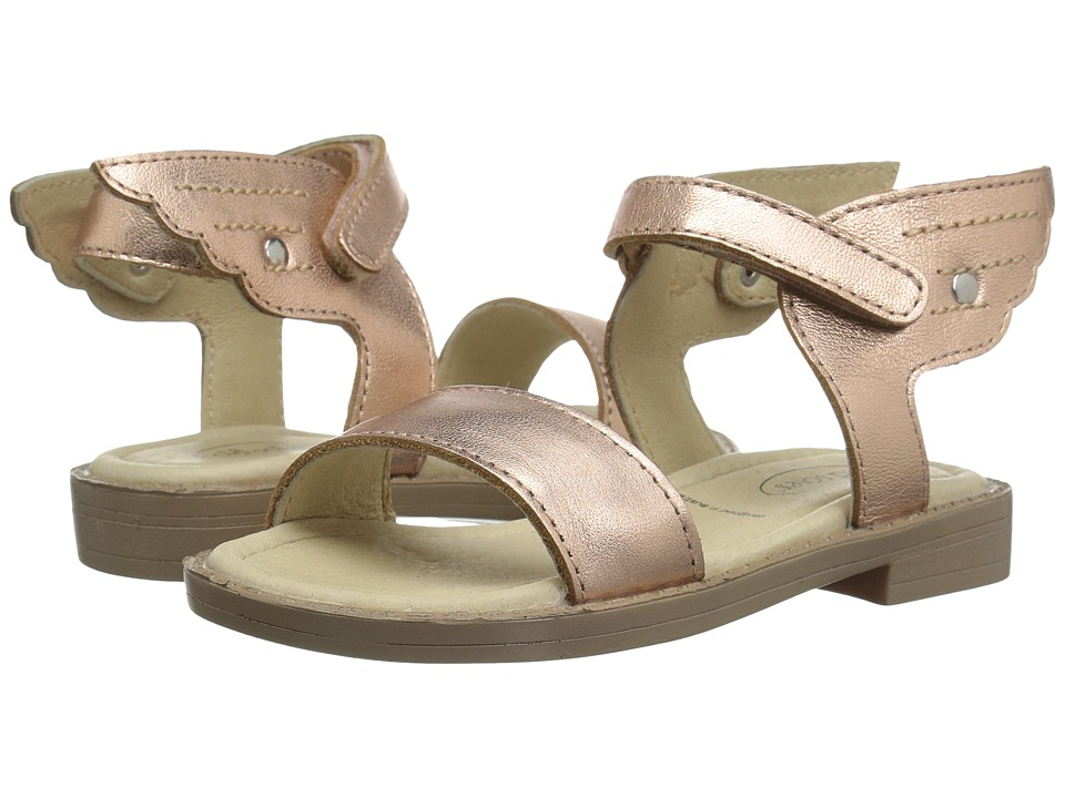 Old Soles - Flying Sandals (Toddler/Little Kid) (Copper) Girls Shoes
