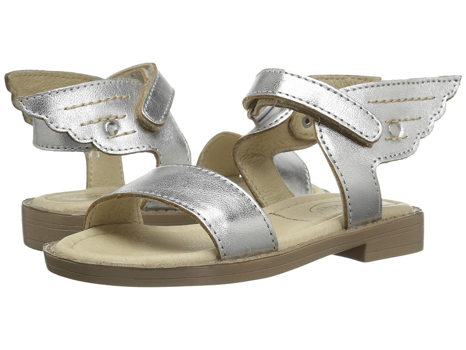 Old Soles - Flying Sandals (Toddler/Little Kid) (Silver) Girls Shoes