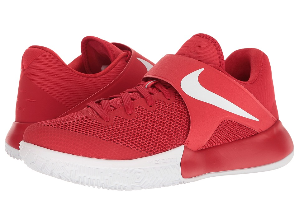 Nike - Zoom Live 2017 (University Red/Black/Bright Crimson) Men's Basketball Shoes