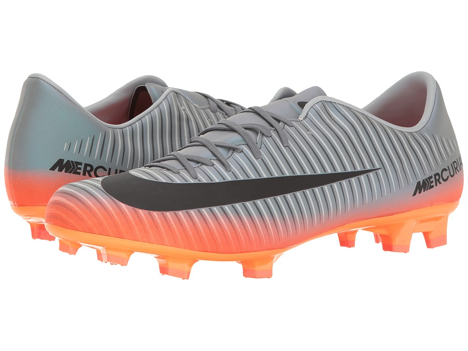 Nike - Mercurial Victory VI CR7 FG (Cool Grey/Metallic Hematite/Wolf Grey) Men's Soccer Shoes