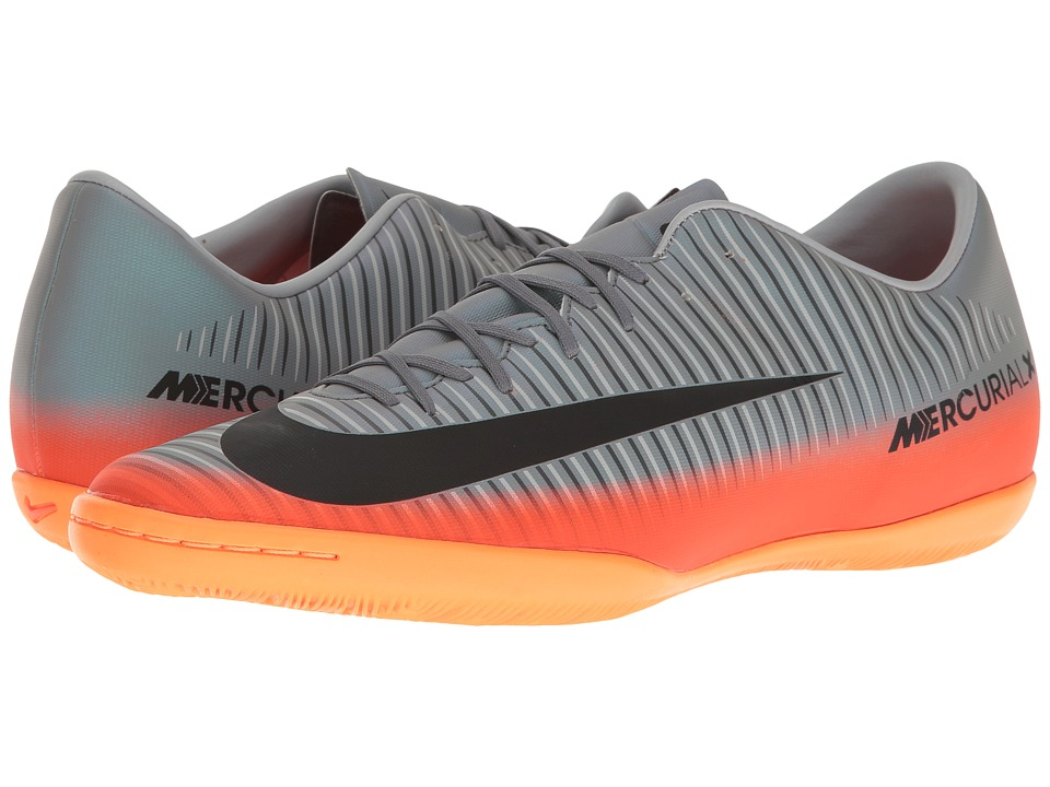 Nike - MercurialX Victory VI CR7 IC (Cool Grey/Metallic Hematite/Wolf Grey) Men's Soccer Shoes