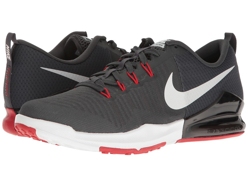 Nike - Zoom Train Action (Anthracite/White/University Red/Black) Men's Cross Training Shoes