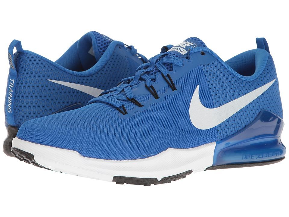 Nike - Zoom Train Action (Hyper Cobalt/Black/White) Men's Cross Training Shoes