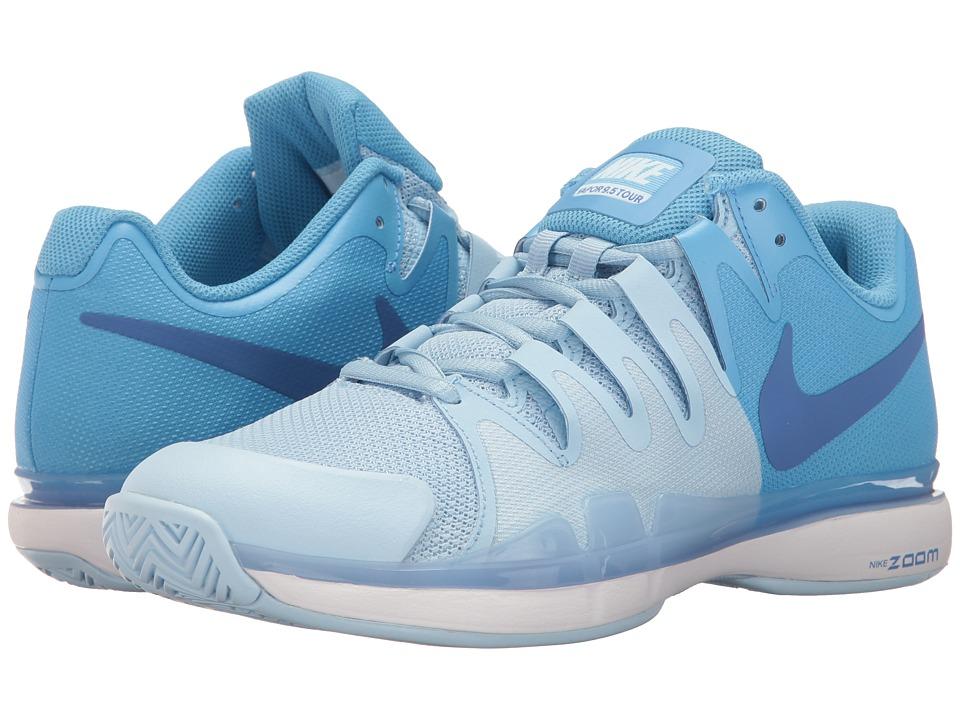 Nike - Zoom Vapor 9.5 Tour (Ice Blue/Comet Blue/University Blue) Women's Tennis Shoes