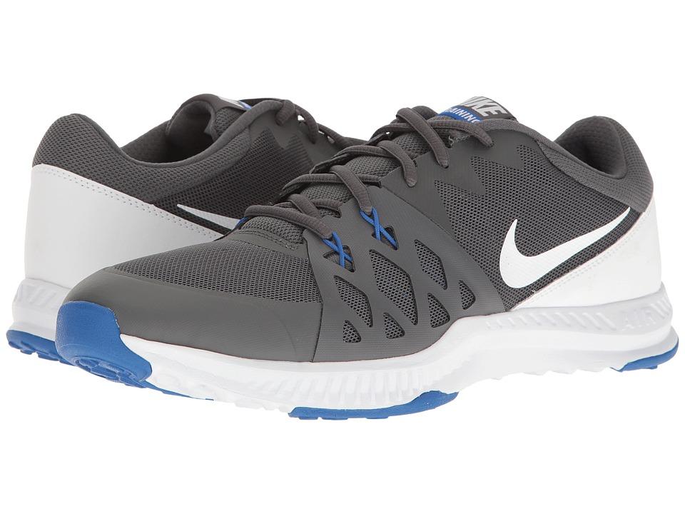 Nike - Air Epic Speed TR II (Dark Grey/Shite/Hyper Cobalt) Men's Cross Training Shoes