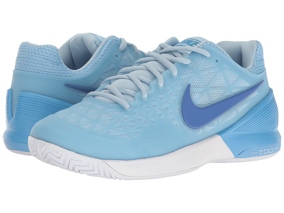 Nike - Zoom Cage 2 (Ice Blue/Comet Blue/University Blue) Women's Tennis Shoes