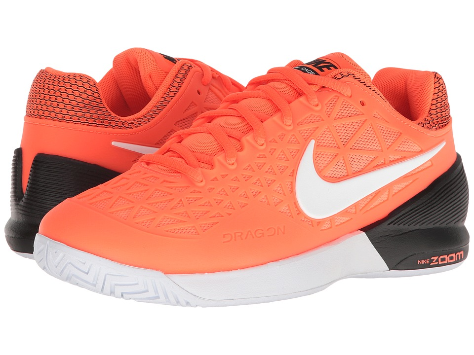 Nike - Zoom Cage 2 (Tart/White/Black) Women's Tennis Shoes