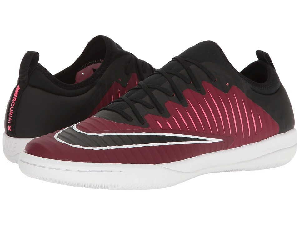 Nike - MercurialX Finale II IC (Team Red/Black/Racer Pink/White) Men's Soccer Shoes