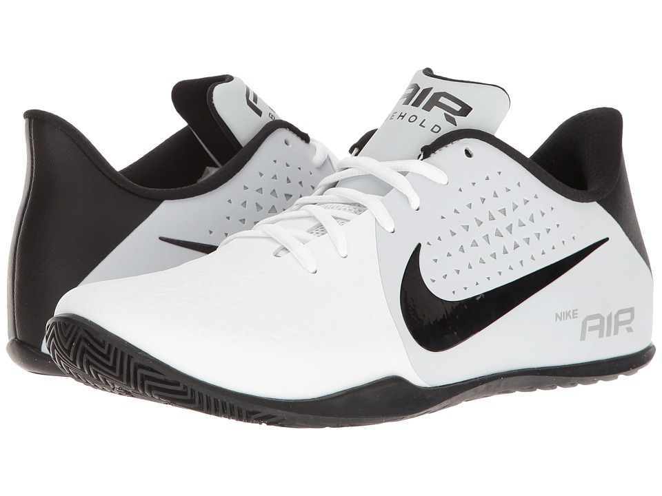 Nike - Air Behold Low (White/Black/Pure Platinum/Wolf Grey) Men's Basketball Shoes