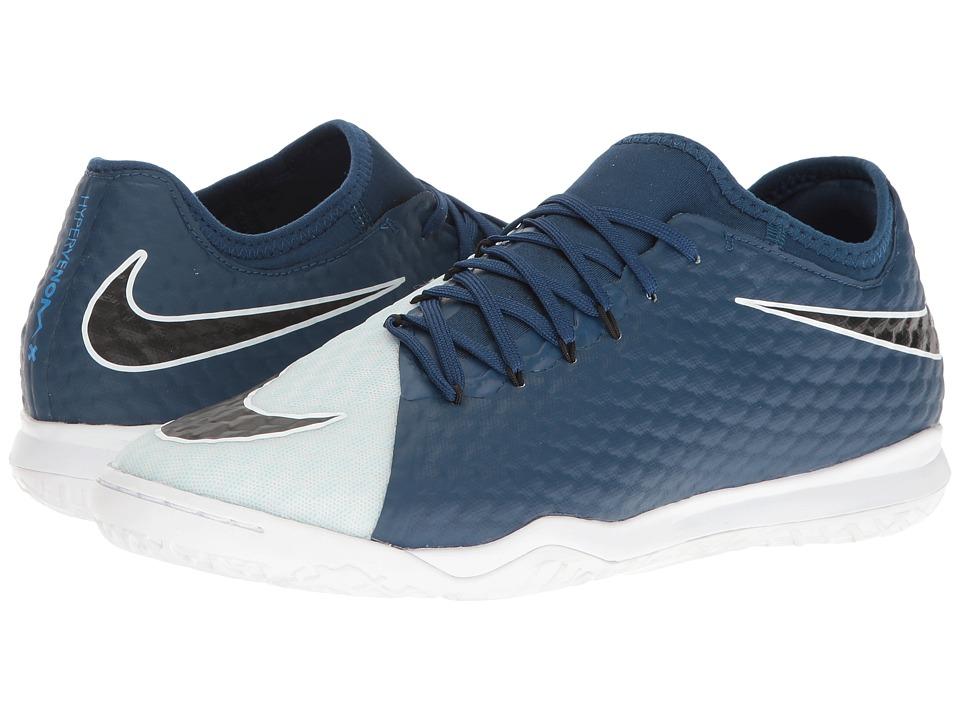 Nike - HypervenomX Finale II IC (Photo Blue/Black/Blue Tint/White) Men's Soccer Shoes