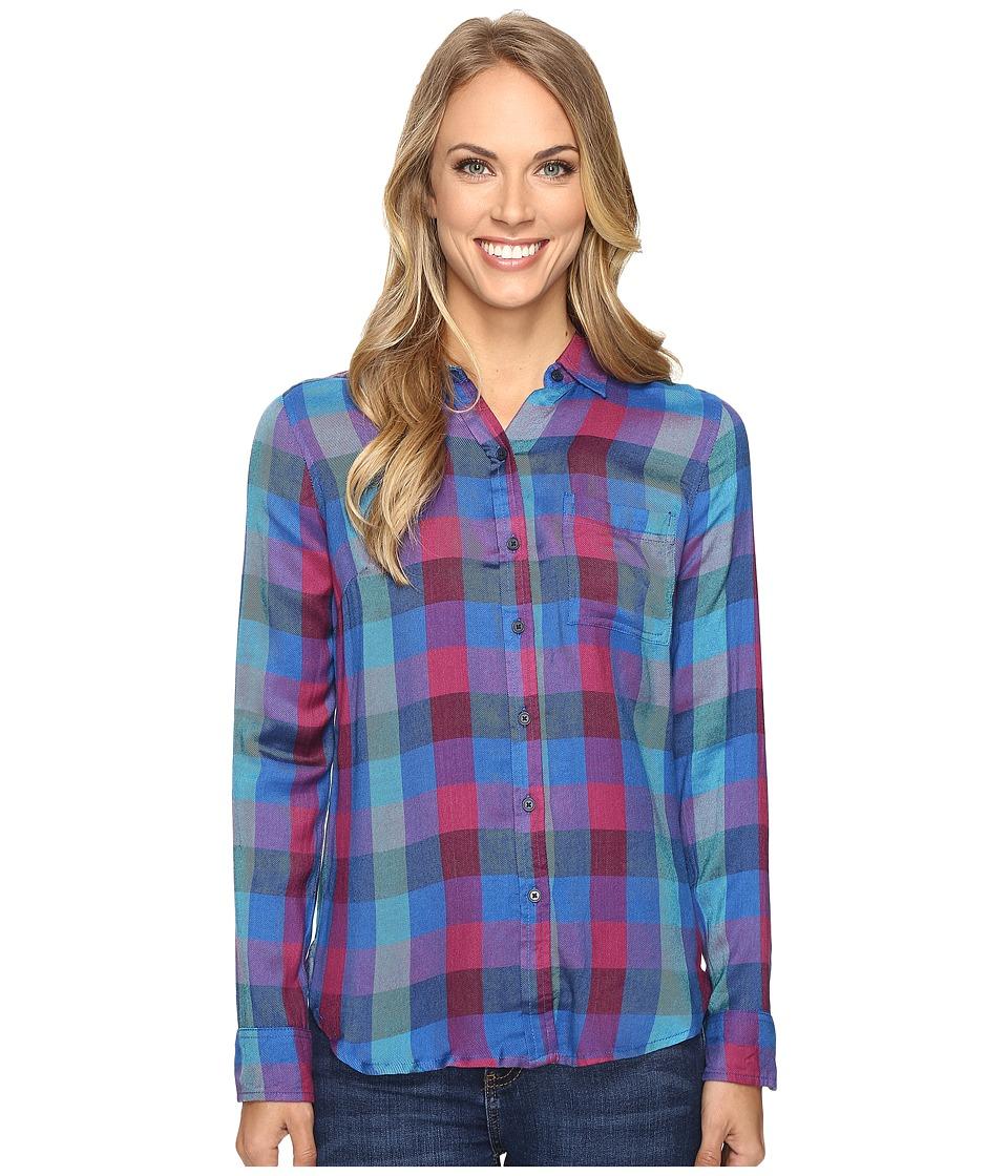 Lucky Brand - Back Overlay Shirt (Multi) Women's Clothing