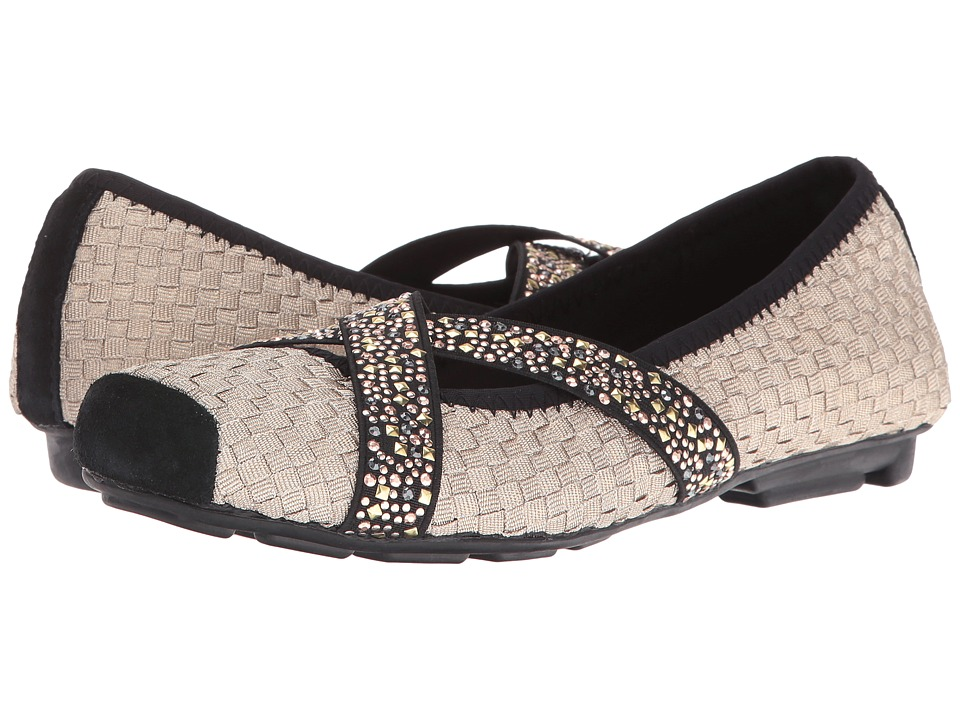 bernie mev. - Point (Light Gold) Women's Slip on Shoes
