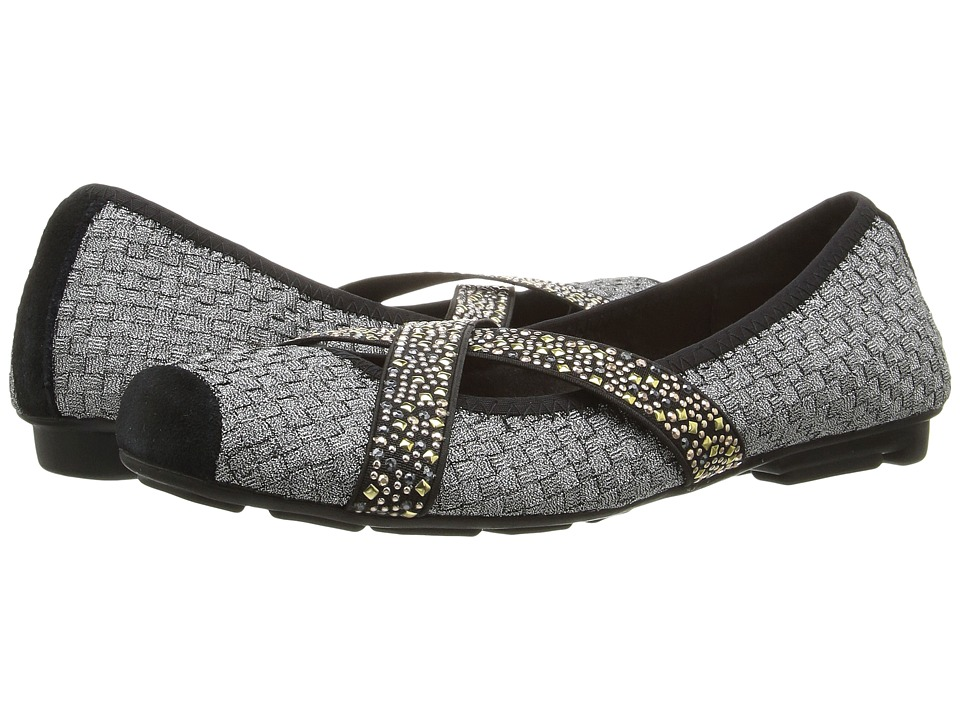 bernie mev. - Point (Pewter) Women's Slip on Shoes