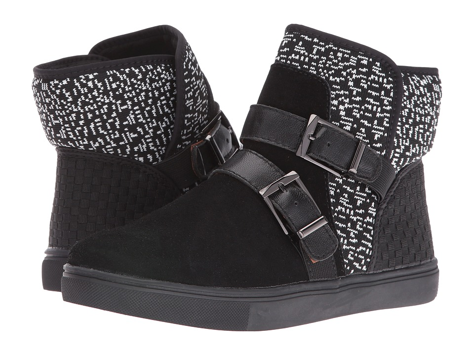 bernie mev. Frostie (White Knit/Black) Women