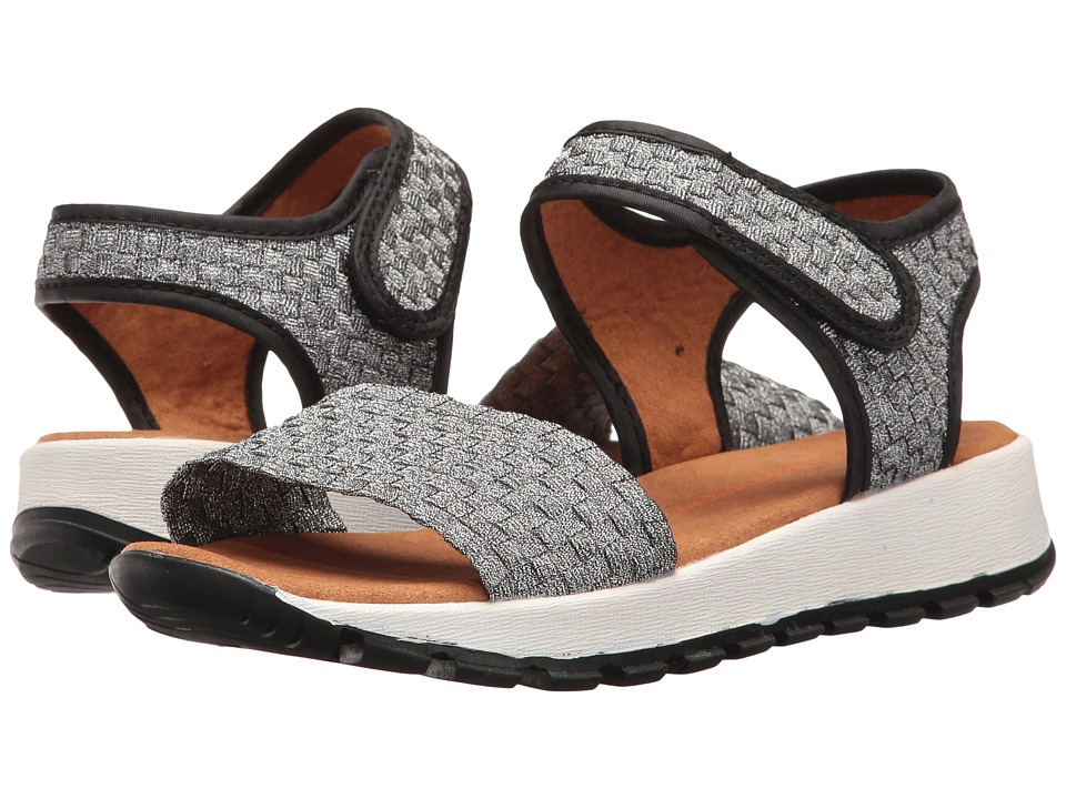 bernie mev. - Tara (Pewter) Women's Sandals