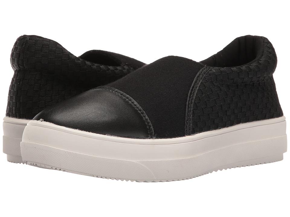 bernie mev. - Mid Dynasty (Black) Women's Slip on Shoes
