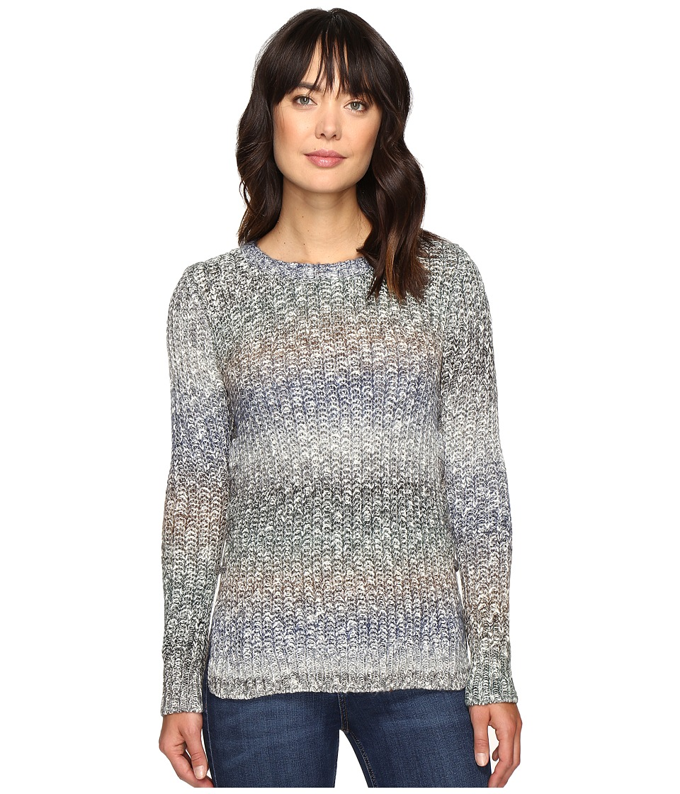 Lucky Brand - Omber Lace-Up Pullover (Multi) Women's Clothing