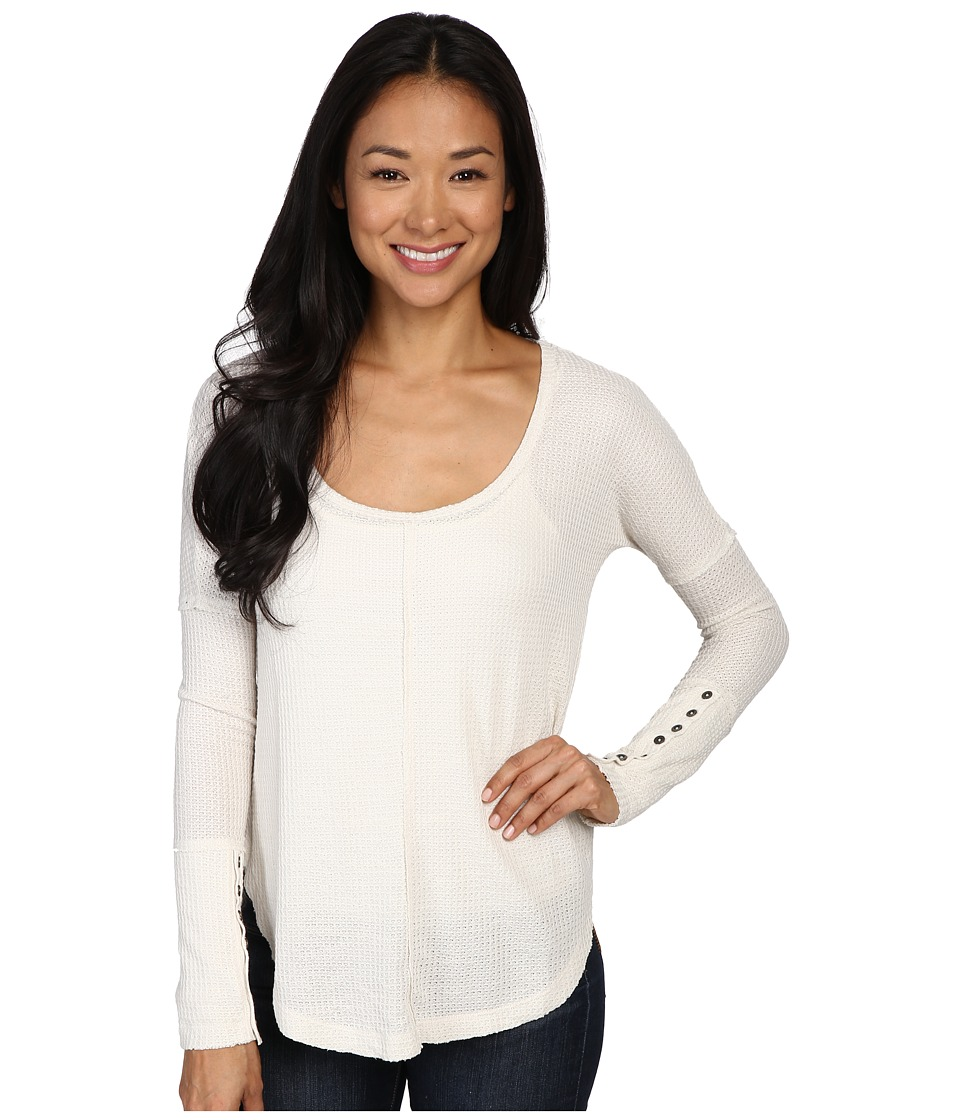 Lucky Brand - Thermal Tee (Birch) Women's T Shirt