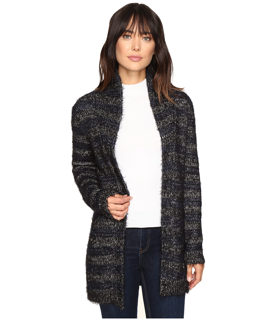 Lucky Brand - Shine Stripe Cardigan (Blue Multi) Women's Sweater