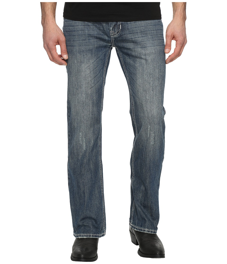 Rock and Roll Cowboy - Pistol Regular Fit Jeans M0P9485 (Medium Wash) Men's Jeans