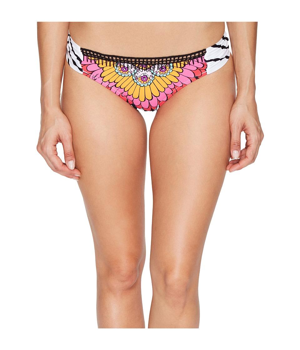 Trina Turk - Ibiza Shirred Side Hipster Bottom (Multi) Women's Swimwear