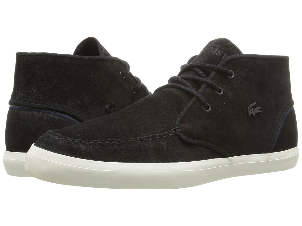 Lacoste - Sevrin Mid 316 1 (Black) Men's Shoes