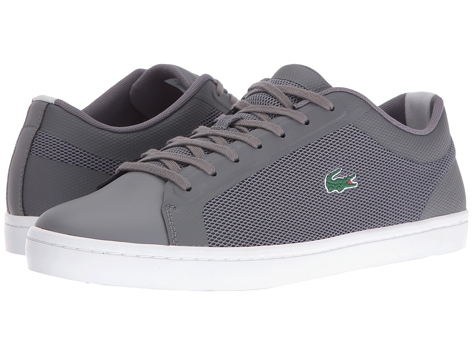 Lacoste Straightset SR 316 1 (Dark Grey) Men
