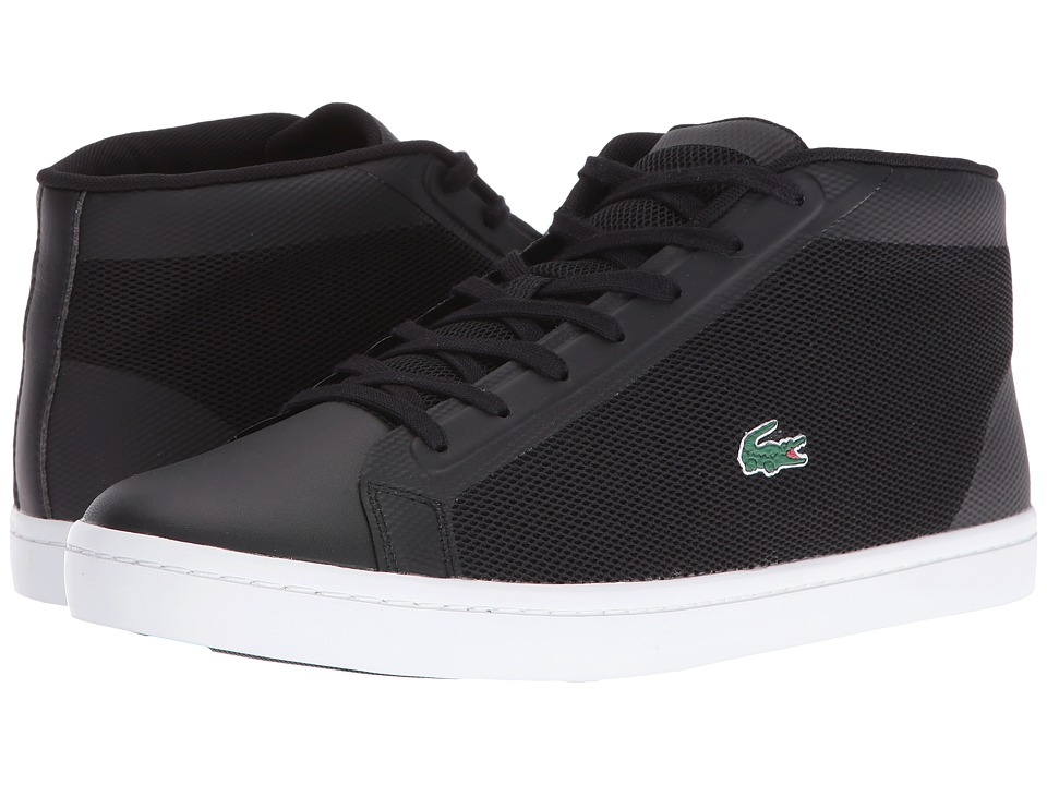Lacoste Straightset Chukka 316 1 (Black/White) Men